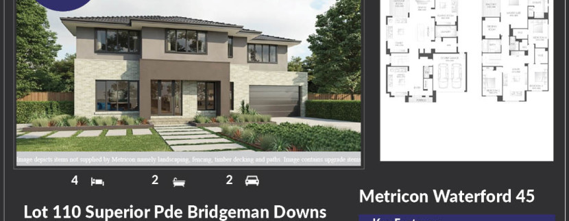 Metricon to build luxury homes at Bridgeman Hilltop estate