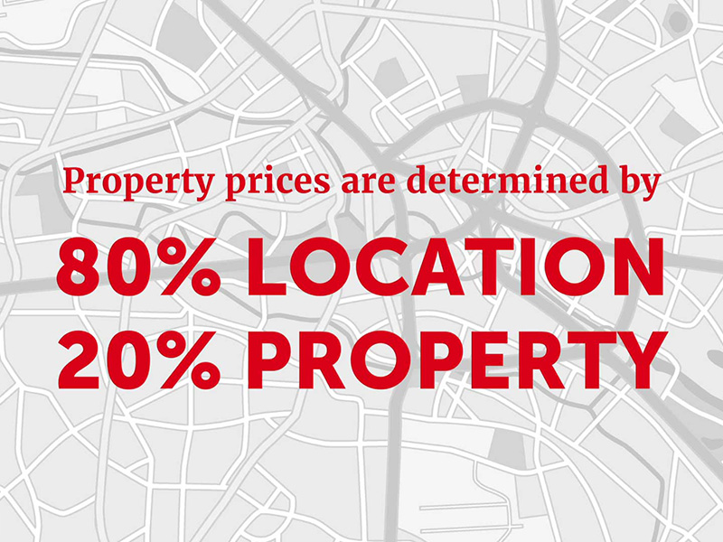 Why location is crucial when it comes to investing in property