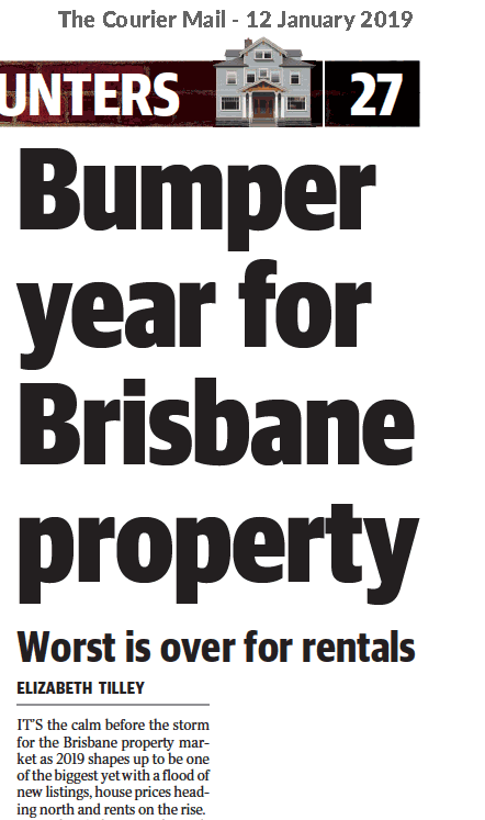 More Good News for Brisbane Land Buyers