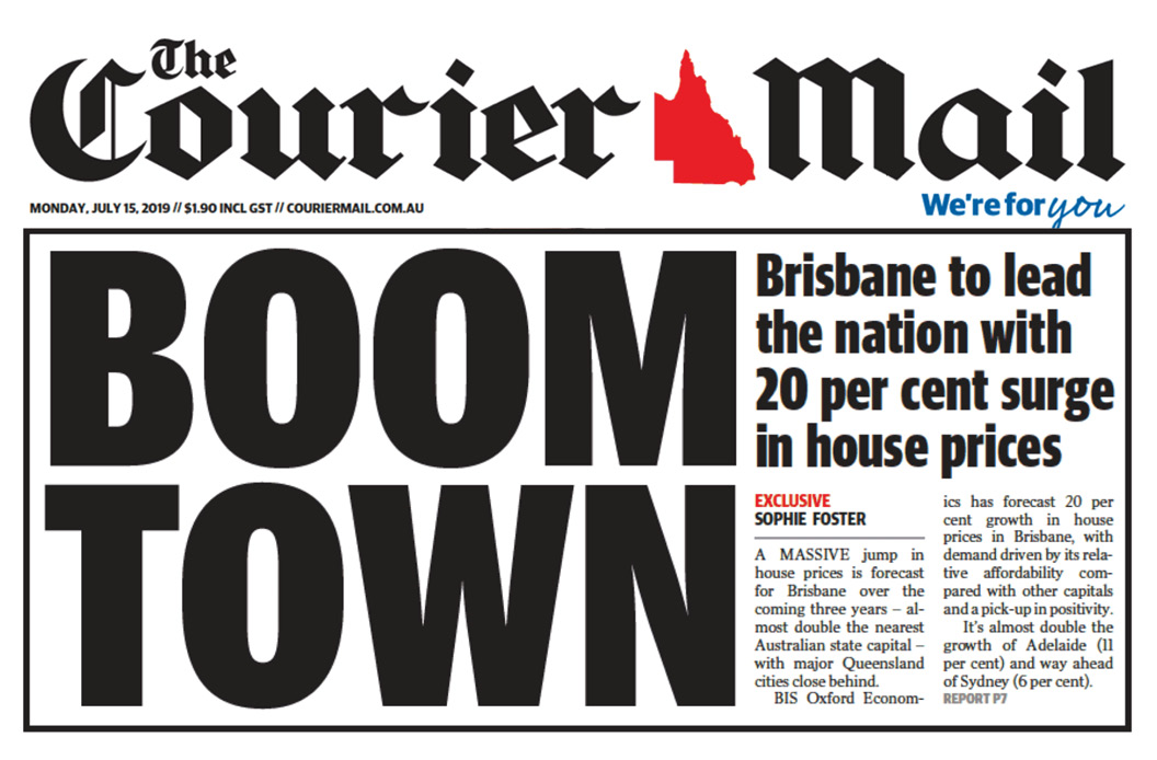 Boom Town - Brisbane House Prices on Steroids