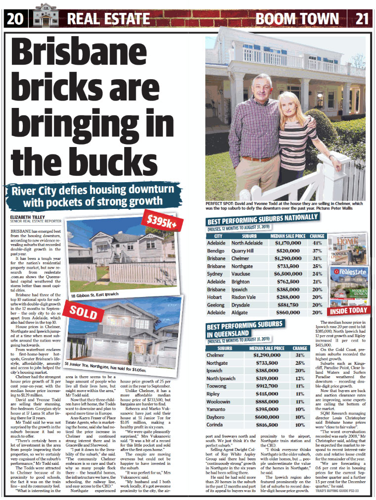 Brisbane Bricks are Bringing in the Bucks