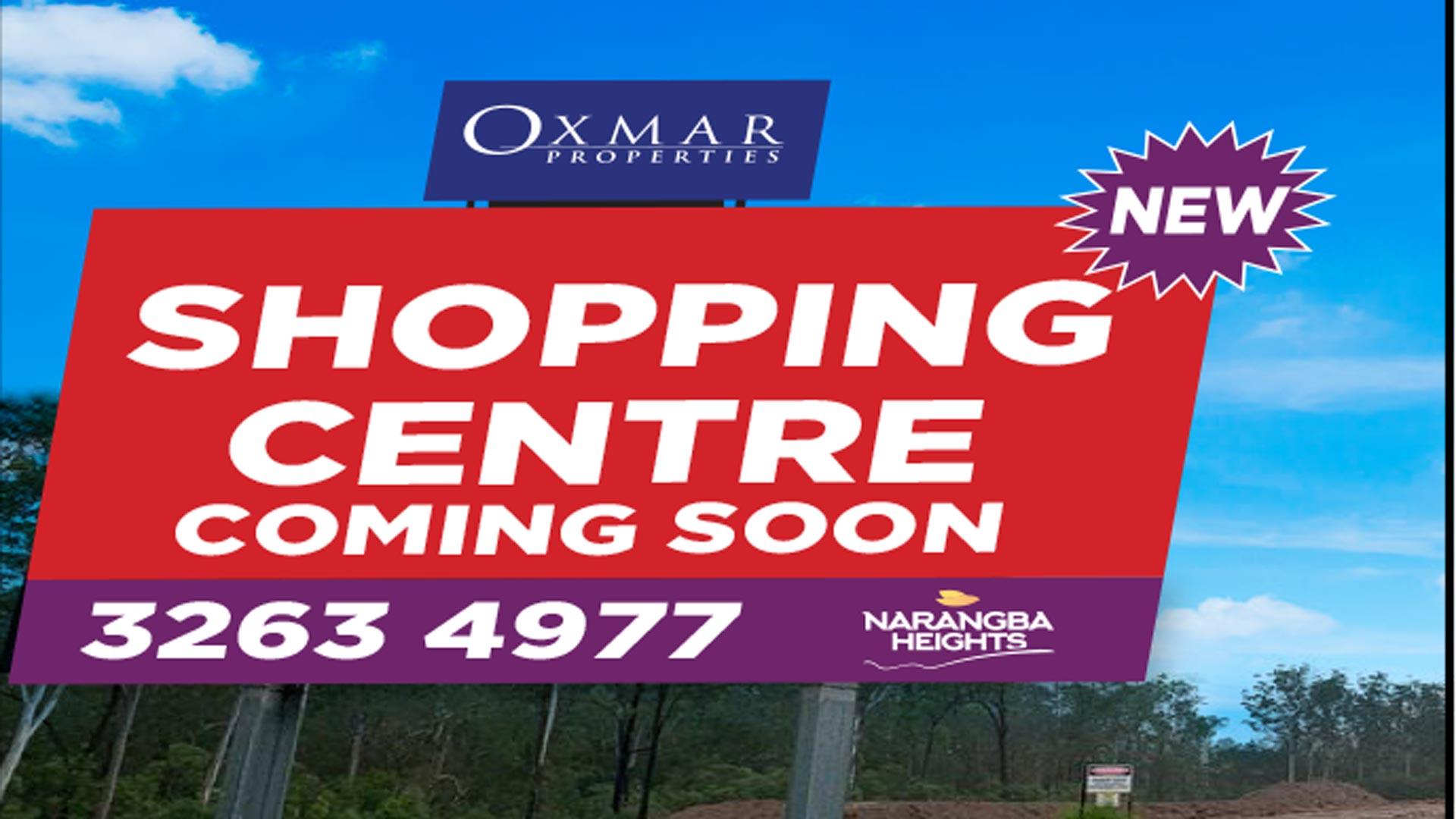 Narangba Heights Shopping centre update