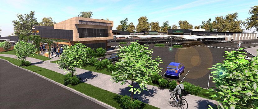 Narangba Hieghts new shopping centre