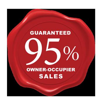 Oxmar guaranteed 80 percent owner occupier