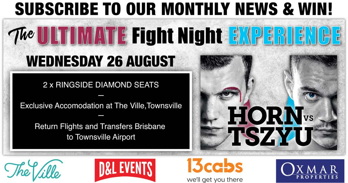 Win The Ultimate Fight-Night Experience - Oxmar